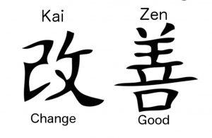 Kaizen in Japanese